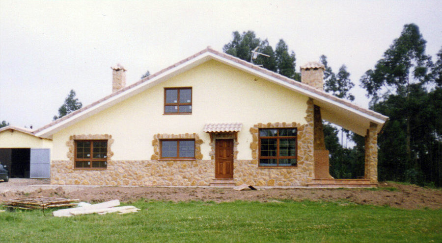 Foto obra nueva construcci n de casas de avanur - Construccion de casas precio ...