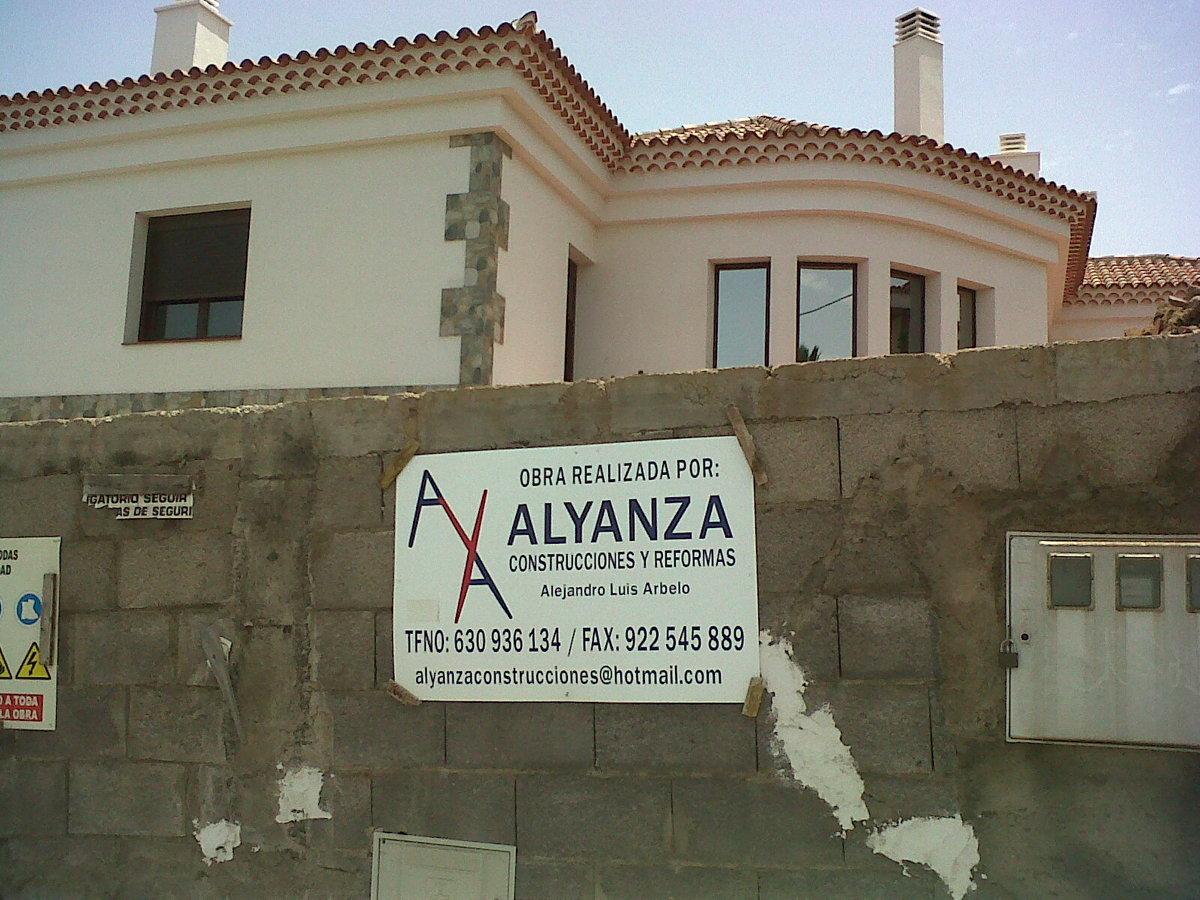 Foto obra terminada por alyanza de alyanza construcciones - Construcciones y reformas ...