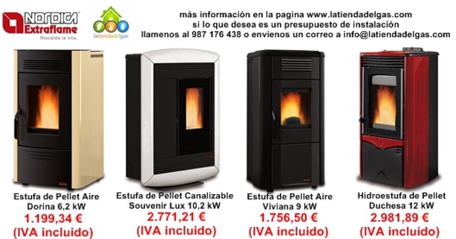 Foto ofertas estufas pellets de gesproclima 478222 - Calefaccion pellets opiniones ...
