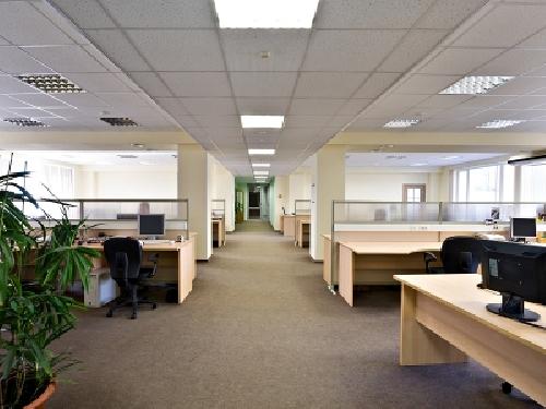 Foto oficina suelo tecnico mamapras techo registrable - Suelos tecnicos precios ...