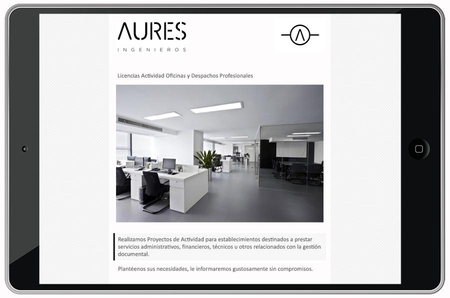 Foto oficinas y despachos profesionales de aures for Oficinas y despachos valencia