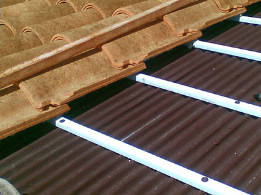 Rehabilitación de tejado teja curva