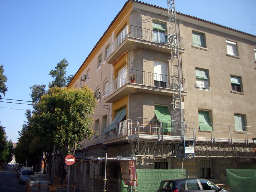 Murcia Barrio de Vistabella. Rehabilitacion con Onexit Monocapa Universal.