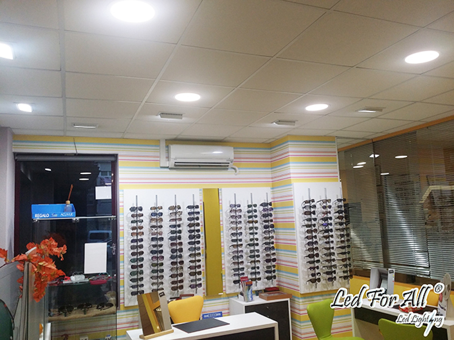 Foto optica calle quero madrid de led for all - Iluminacion led malaga ...