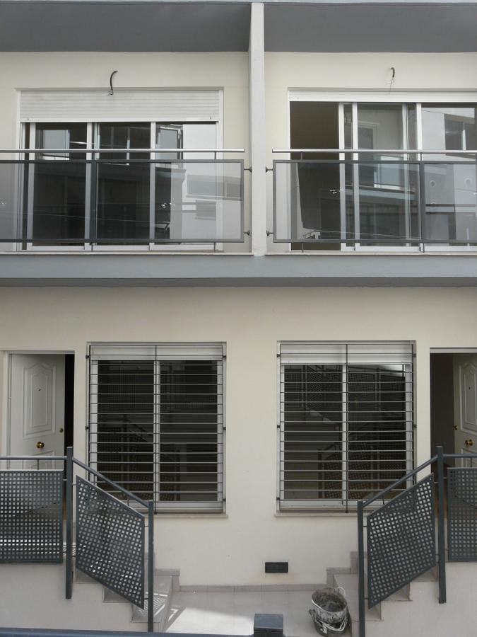 Fachada residencial 34 viviendas