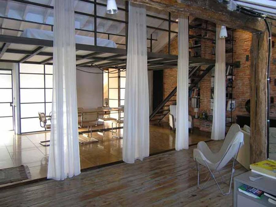 Reforma de ático loft industrial