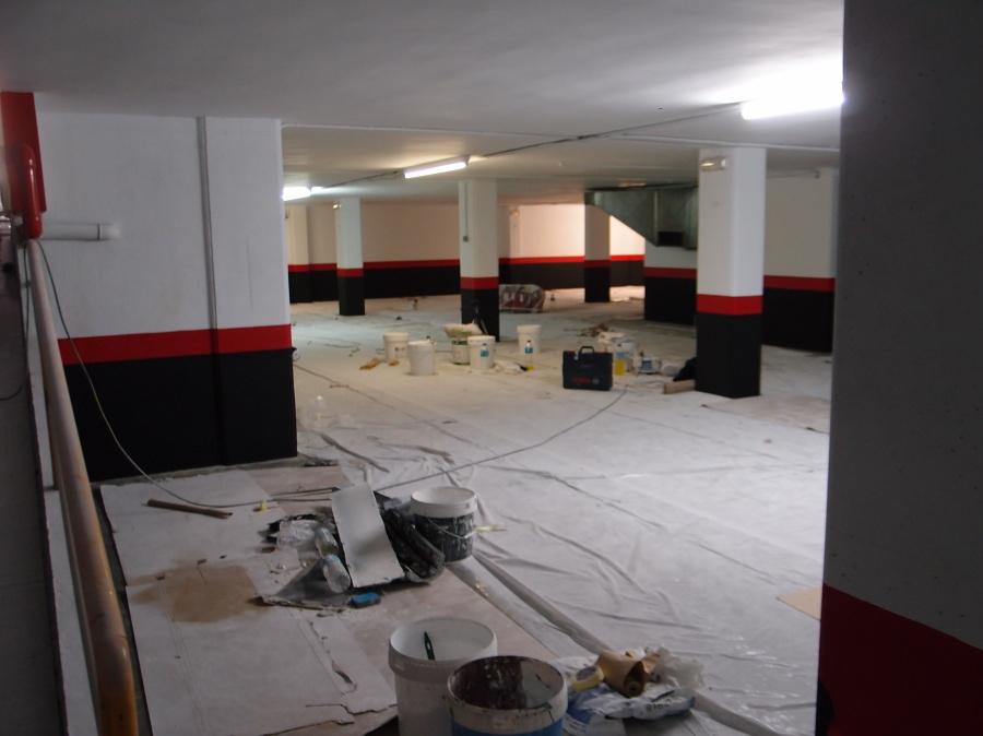 Foto renovaci n de pintura en garajes de ochoadecor - Pinturas para garajes ...