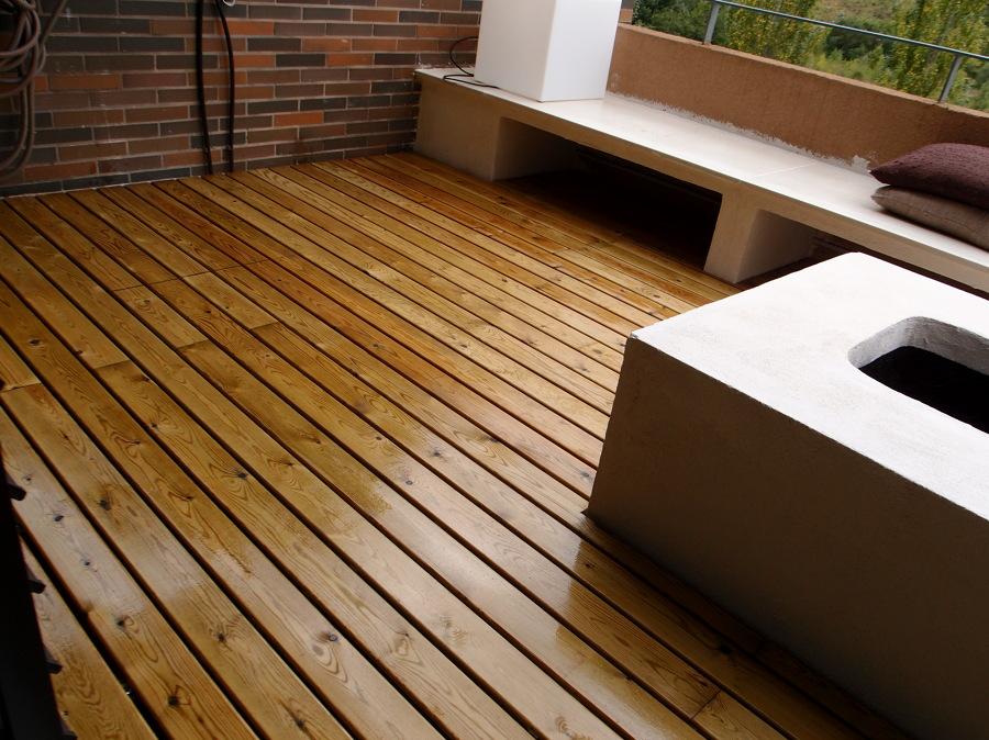 Foto montar tarima en terraza de ochoadecor 963361 - Tarima para terraza ...