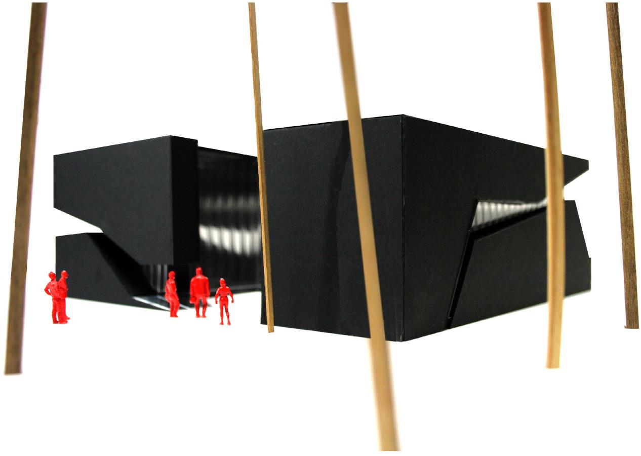 Pabellón expositivo en la Bienal de Venecia
