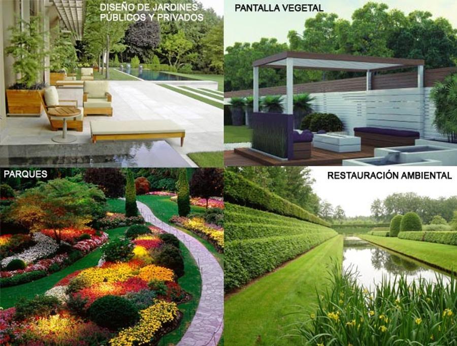 Jardinería y paisaje