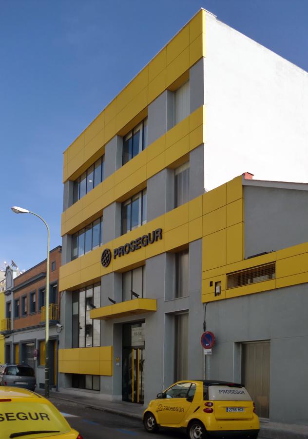 Foto sede de oficinas de prosegur madrid de ocreza proyectos y obras 1234133 habitissimo - Oficinas prosegur madrid ...