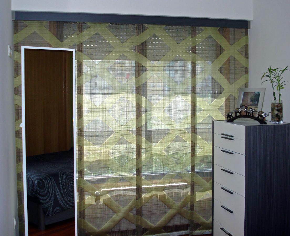 Foto panel japones de cortinas luis vizcaya 211364 - Cortinas panel japones fotos ...