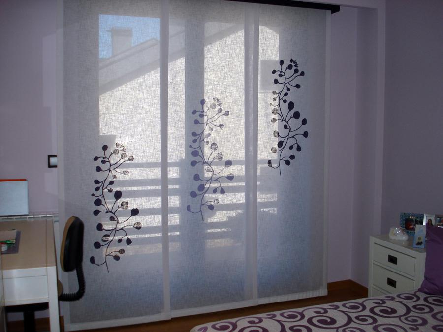 Foto panel japones de cortinas luis vizcaya 211376 habitissimo - Panel japones cortinas ...