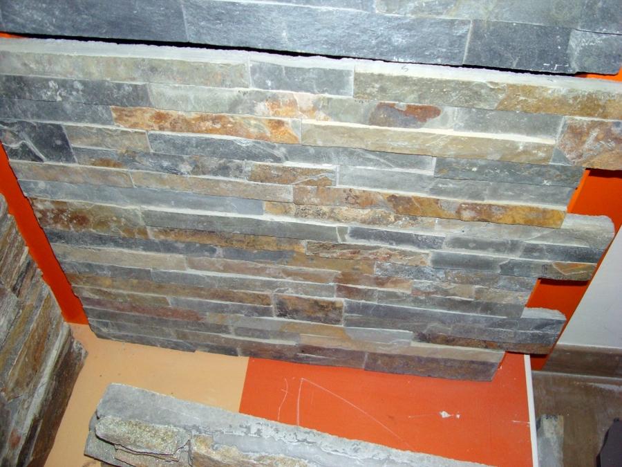 Foto panel piedra natural premontada de taller de piedra - Paneles piedra natural ...