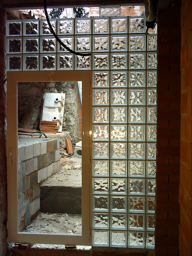 panel translúcido de Pv , vista desde el interior