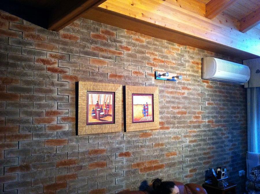 Foto paneles decorativos para paredes y fachadas de - Panelado de paredes ...