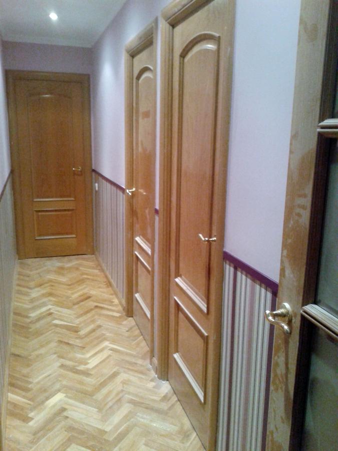 Foto panoramica pasillo z calo papel de alfonso garcia - Papel pintado pasillo ...