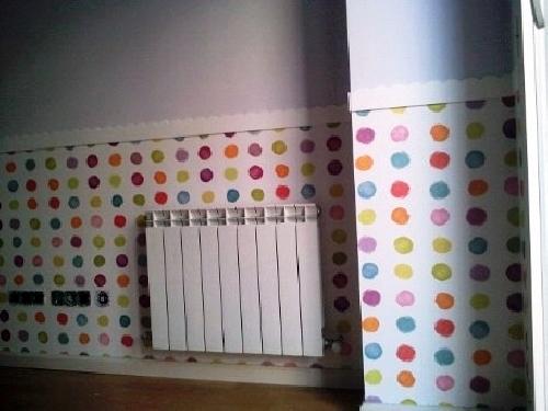 Mi casa decoracion papel pintado para habitaciones ninos - Cuartos de ninos pintados ...