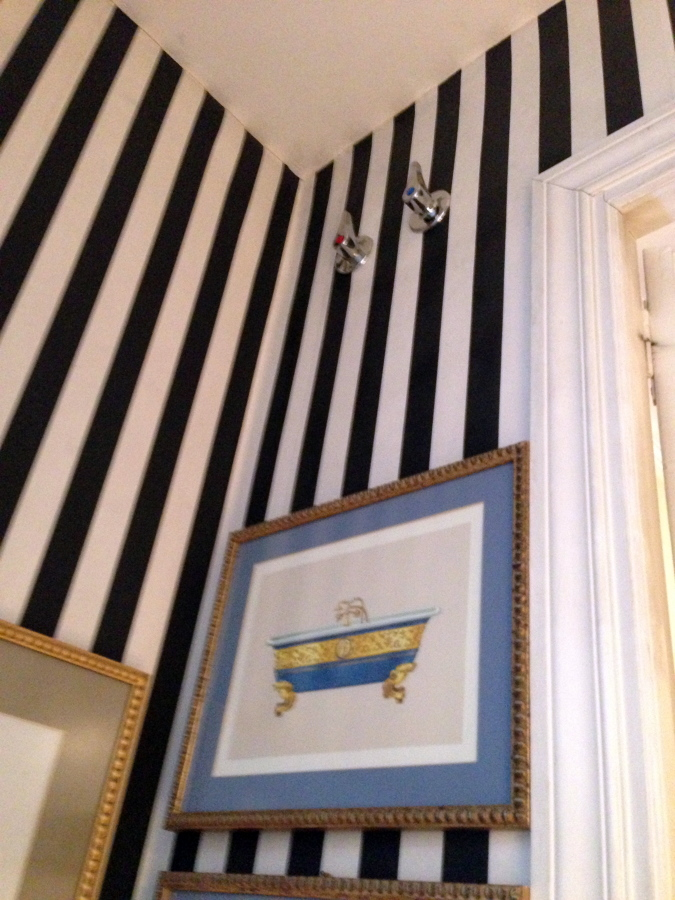 Foto papel pintado de reformas c b 362832 habitissimo for Papel pintado coruna