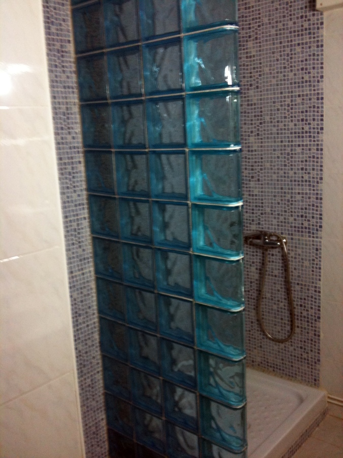 Pared paves ducha