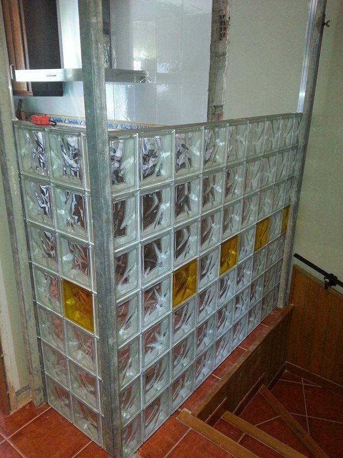 Foto paredes de cristal de construcciones cabrera 705515 - Paredes de cristal precios ...
