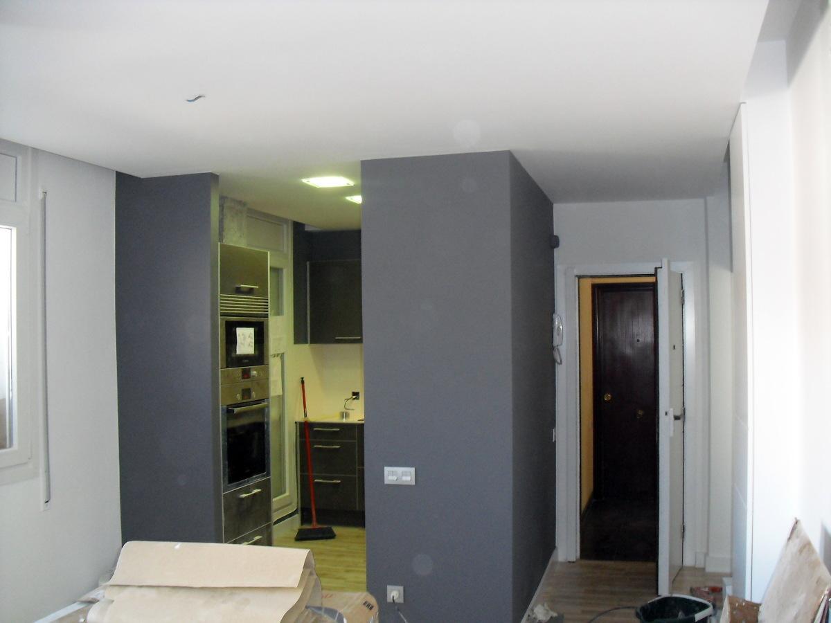 Foto paredes pintadas de decoin pintores s l 227065 - Decoracion de paredes pintadas ...