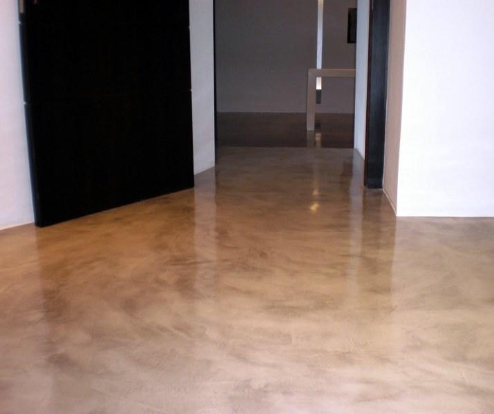 Foto pavimento continuo de microcemento de tecnisec - Microcemento precio ...