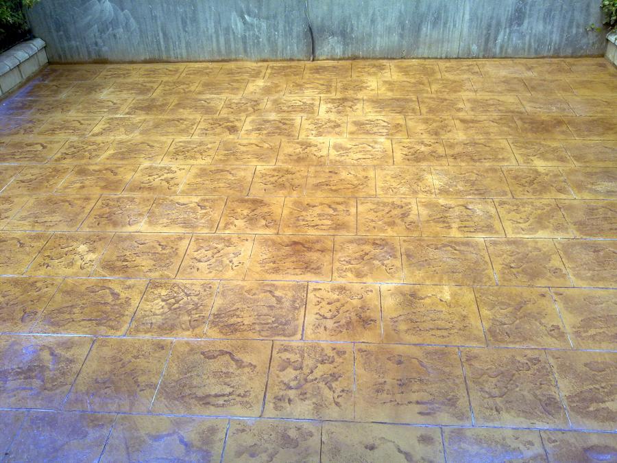 Foto pavimento de hormigon impreso de 229256 for Pavimento de hormigon barcelona