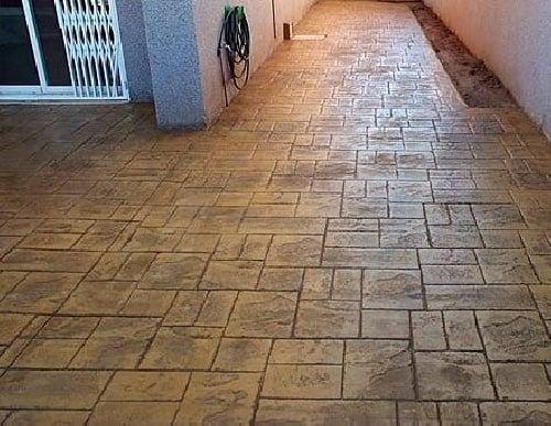 Foto pavimento de hormigon impreso de 229259 for Pavimento de hormigon tarragona