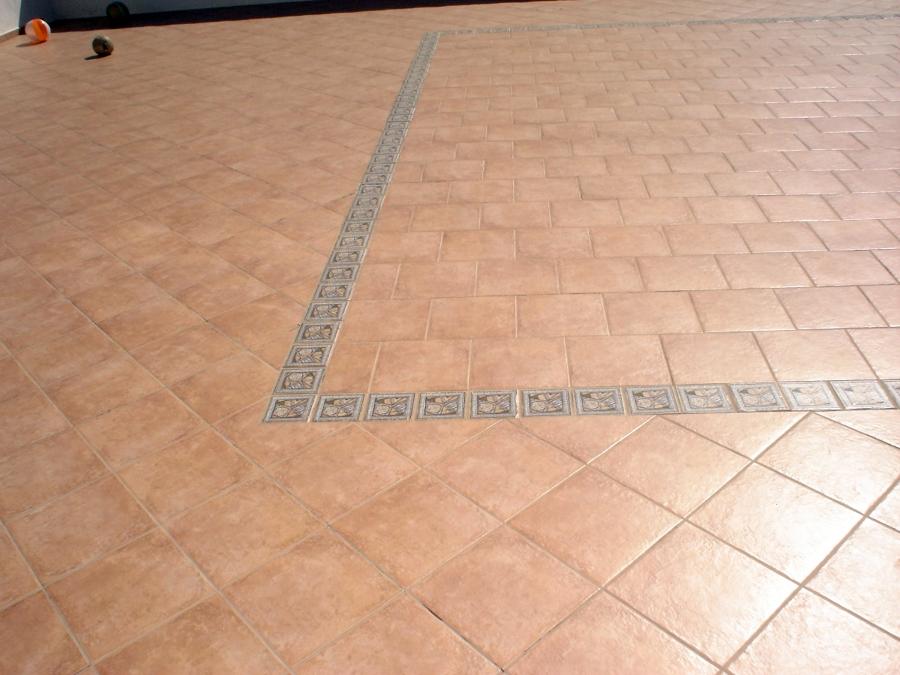 pavimento  de terraza