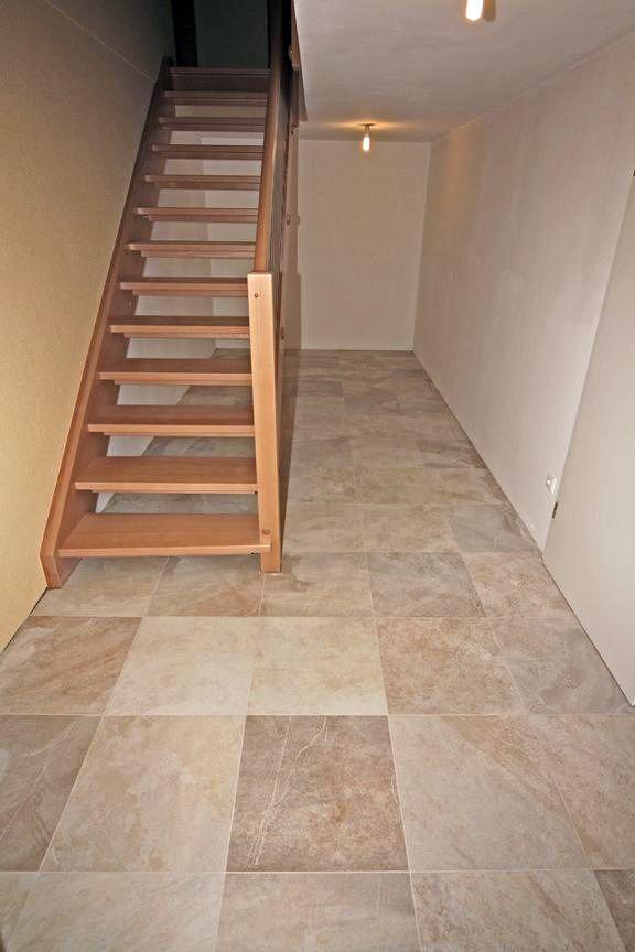 pavimento, escalera, pintura