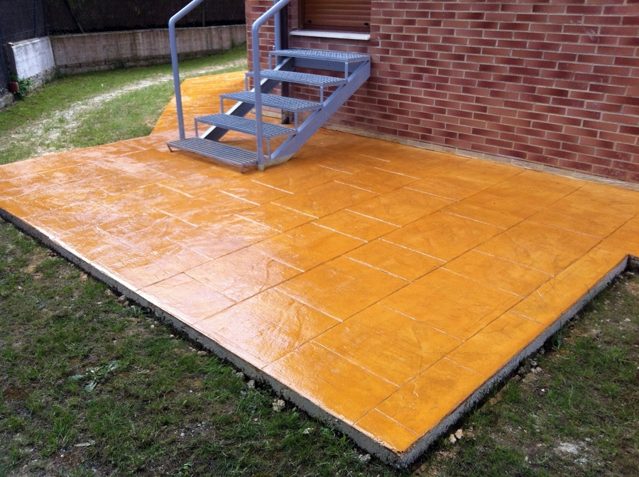 Foto pavimento impreso de pavimentos del norte sa 354075 for Pavimento impreso tarragona