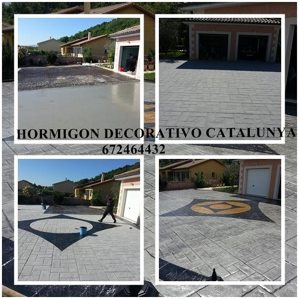 Foto pavimento impreso de pavimentos de hormigon impreso for Pavimento impreso tarragona