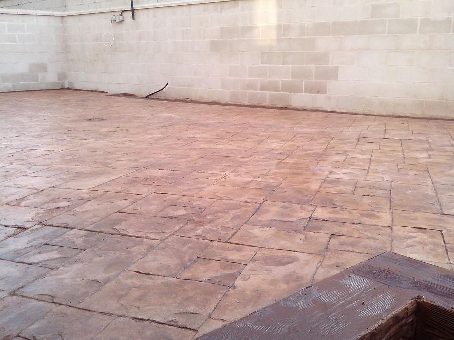Foto pavimento impreso de bettompres2004 532200 - Pavimento impreso valencia ...