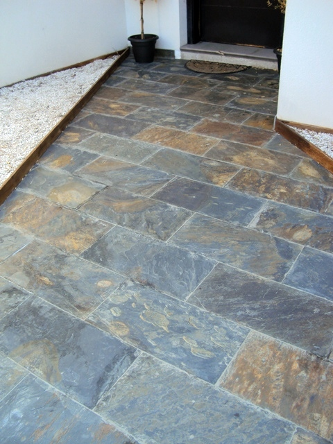 Foto pavimentos exterior de pluvialtex s l 244203 - Pavimento rustico exterior ...