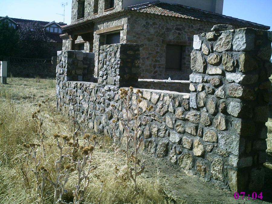 Pelayos del Arroyo,Segovia, Muros