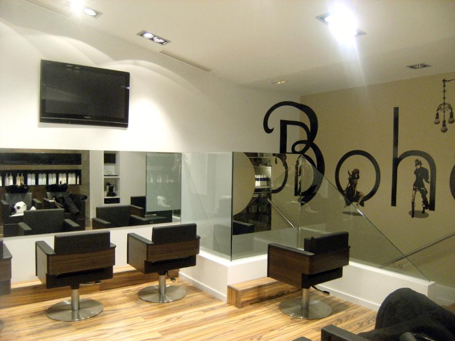 Foto peluqueria boho donostia gipuzkoa de xyz dise o - Decoracion de peluqueria ...
