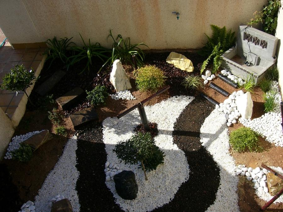 Foto peque o jard n japones de blossom jardineros 299863 for Decoracion jardin japones