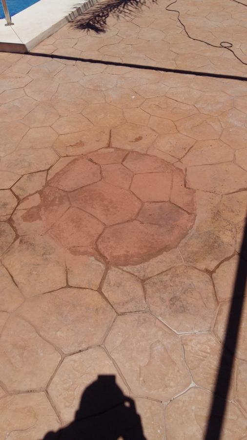Restauracion suelo hormigón proyectado