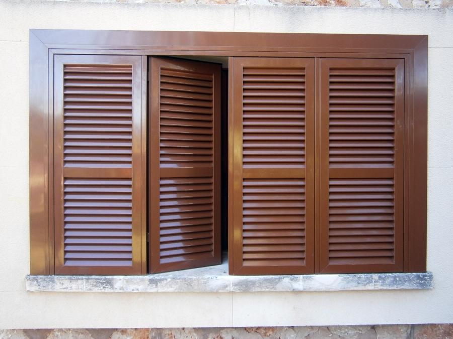 Precios de ventanas de aluminio con persiana cool precio for Precio ventana pvc con persiana