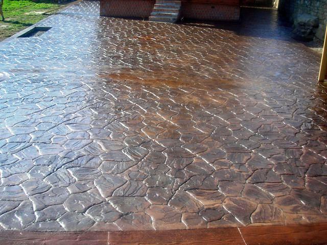 Foto piedra iregular de riv pavimentos 301387 habitissimo for Hormigon impreso noja