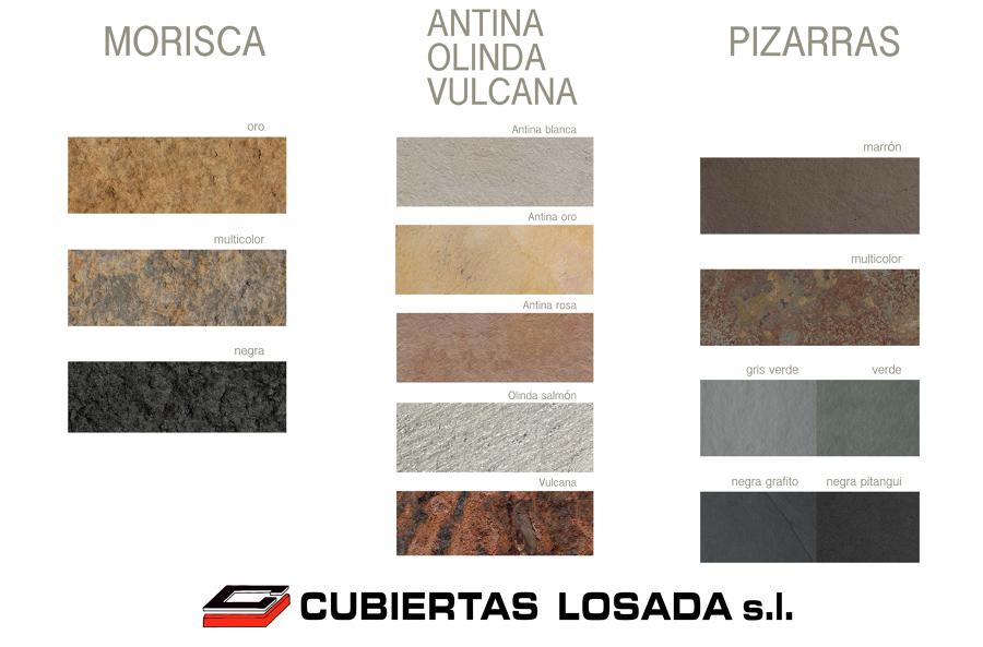 Foto tipos de pizarras y piedras para interior y exterior - Tipos de marmol para cocina ...