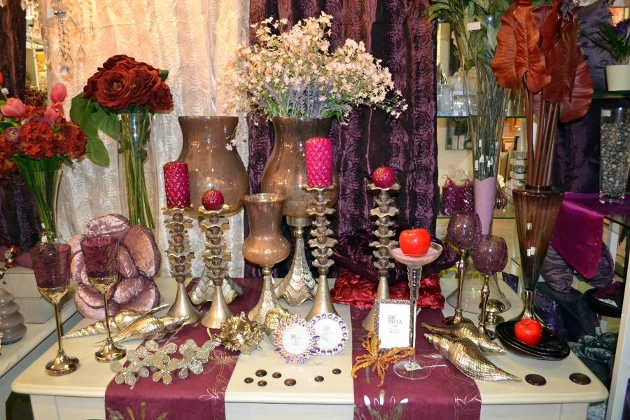 Foto piezas de decoraci n entonos morados de decovarte for Decoracion de piezas