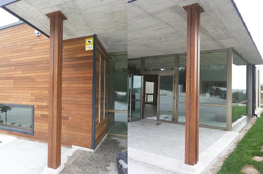 Foto pilares metalicos de trabajos metalicos de soldadura sl 920096 habitissimo - Pilares de hierro ...