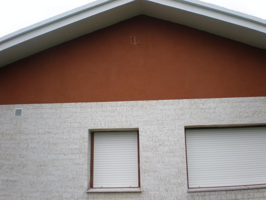 Foto pintado de fachada chalet en heros de corema - Pintado de fachadas ...
