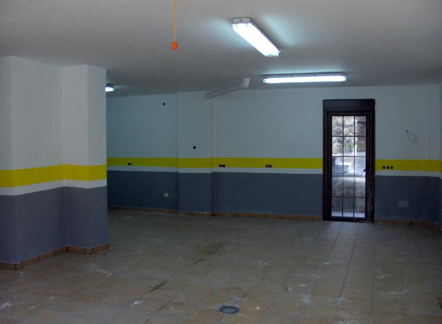 Foto pintado de garaje de reformas pintura y decoraci n - Pintura de garaje ...