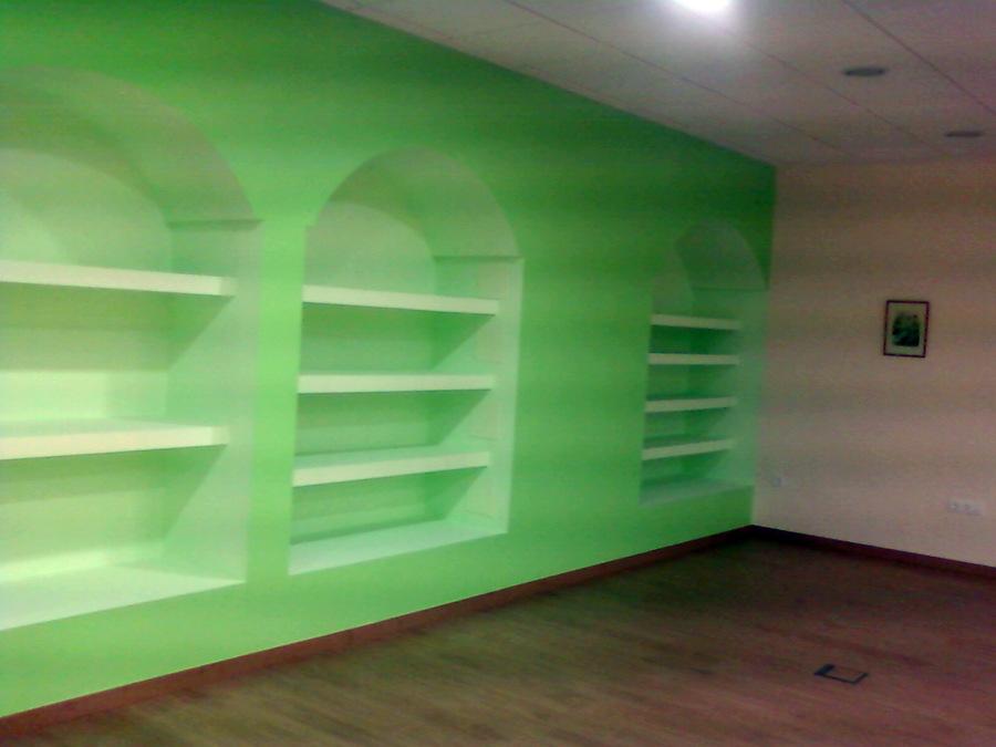 Foto pintado de mueble de pladur de aplicang 451825 - Mueble de pladur ...