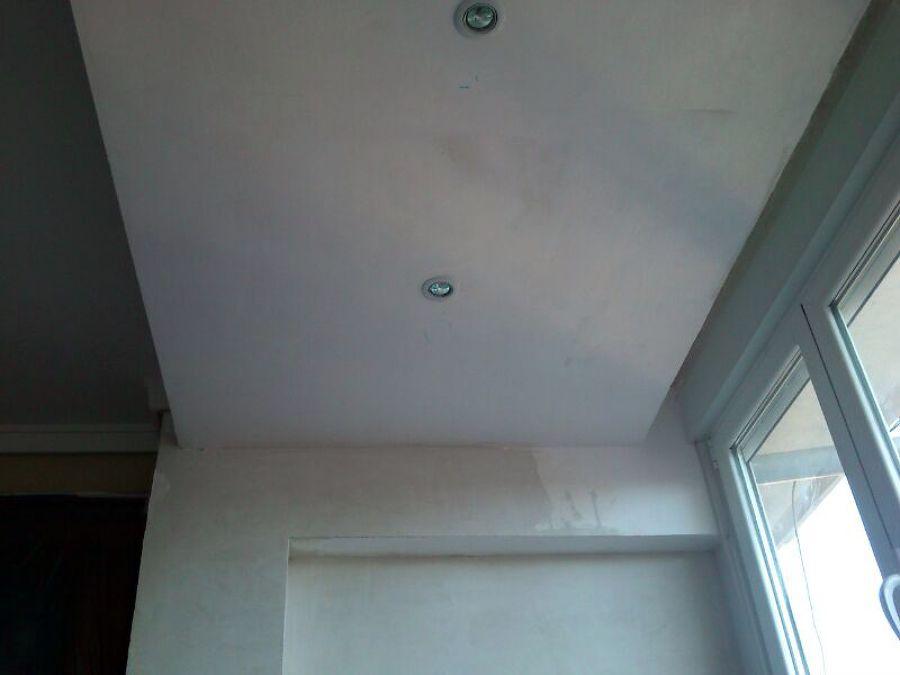 Pintamos su salón en temple liso blanco