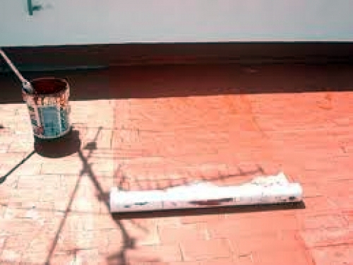 Foto pintar terraza de pinturas jordi 414273 habitissimo - Pintar terraza ...