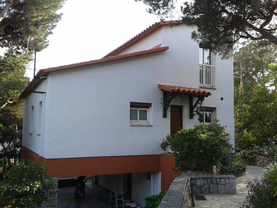 Pintura de fachada Dosrius